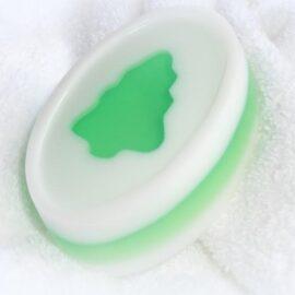 Die Seife mit Ausstechform