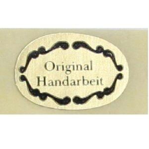 SK-Etikett  Original-Handarbeit