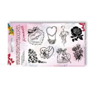 Silikonstempel Set Romantik