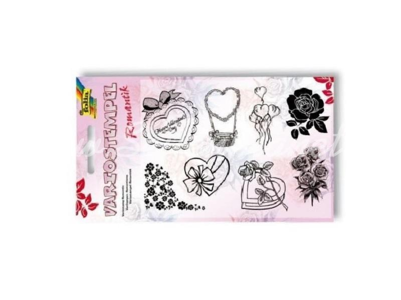 Silikonstempel Set Romantik » 4,70€ » SeifenPlanet-Onlineshop
