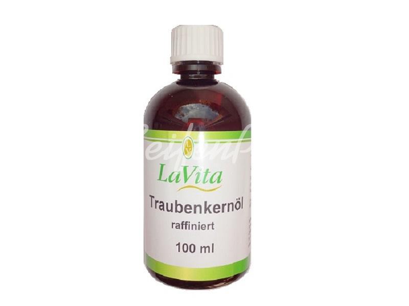 Traubenkernöl, raffiniert ,100 ml » 3,60€ » SeifenPlanet-Onlineshop