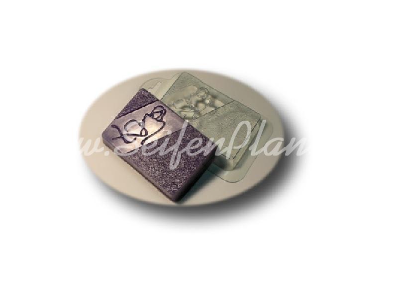 Seifengießform Charme » 2,49€ » SeifenPlanet-Onlineshop