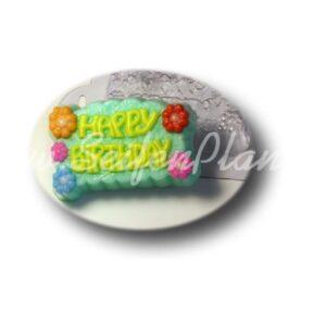 Seifengießform Happy Birthday
