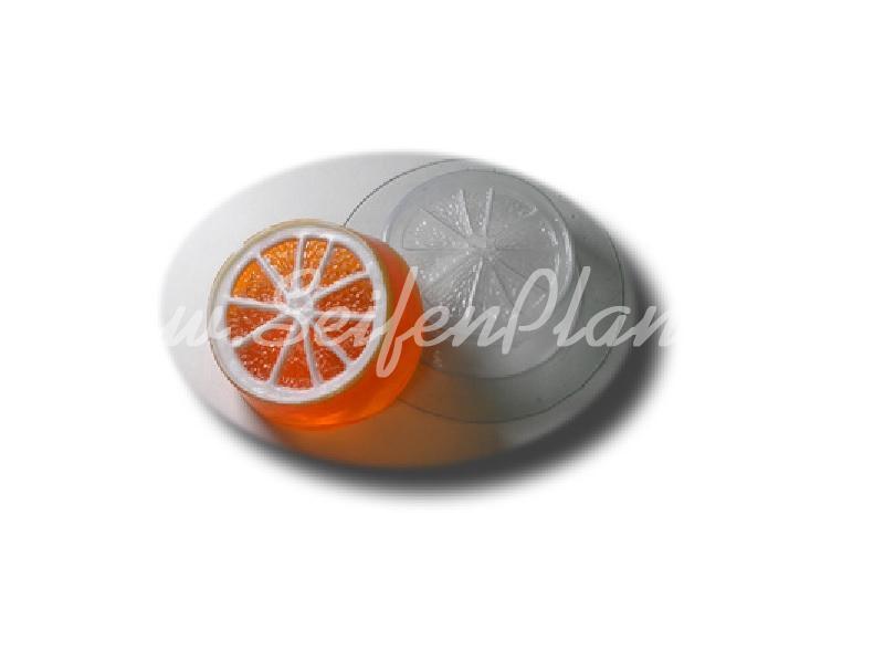 Seifengießform Orange » 2,49€ » SeifenPlanet-Onlineshop