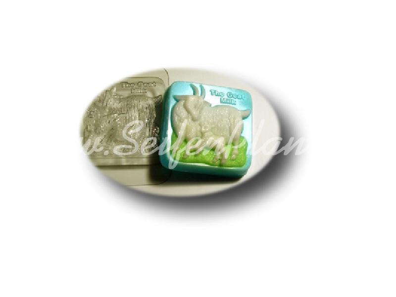 Seifengießform Ziegenmilch » 2,49€ » SeifenPlanet-Onlineshop