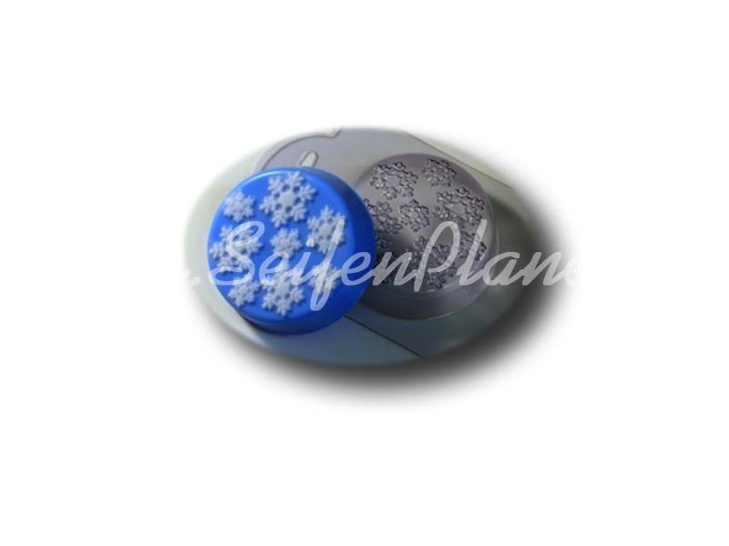 Gießform Schneefall » 2,49€ » SeifenPlanet-Onlineshop