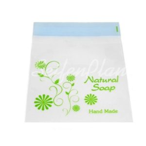 Selbstklebende Folientüte Natural Soap grün, 5-er Set