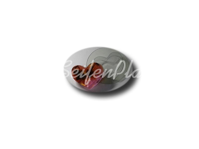 Seifengießform Herz » 2,49€ » SeifenPlanet-Onlineshop
