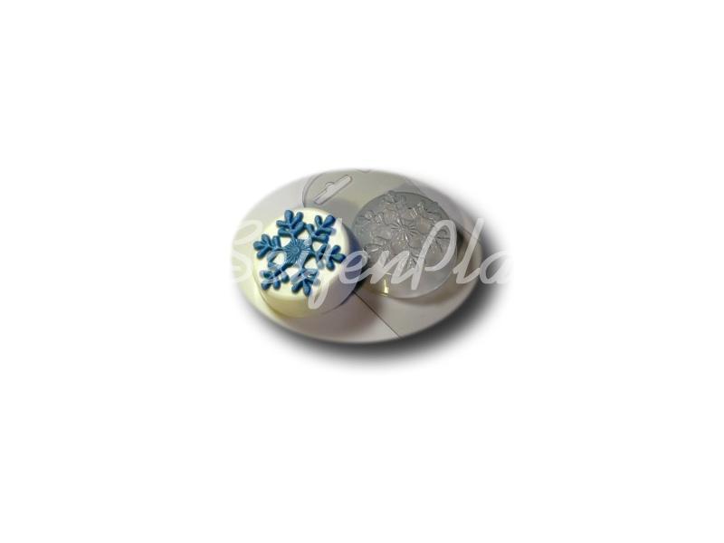 Seifengießform Schneeflocke » 2,49€ » SeifenPlanet-Onlineshop