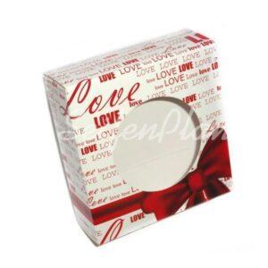 Geschenkpackung Love, 4-er Set