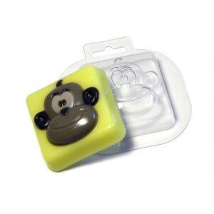 Seifengießform Lustiger Affe
