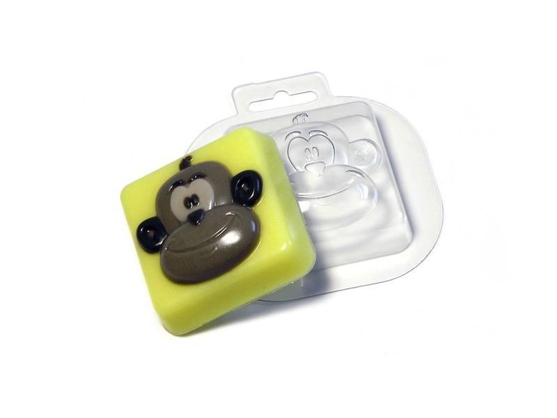 Seifengießform Lustiger Affe » 2,49€ » SeifenPlanet-Onlineshop