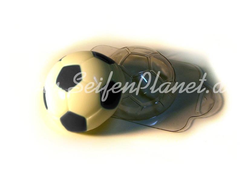 Seifengießform Fußball » 2,49€ » SeifenPlanet-Onlineshop