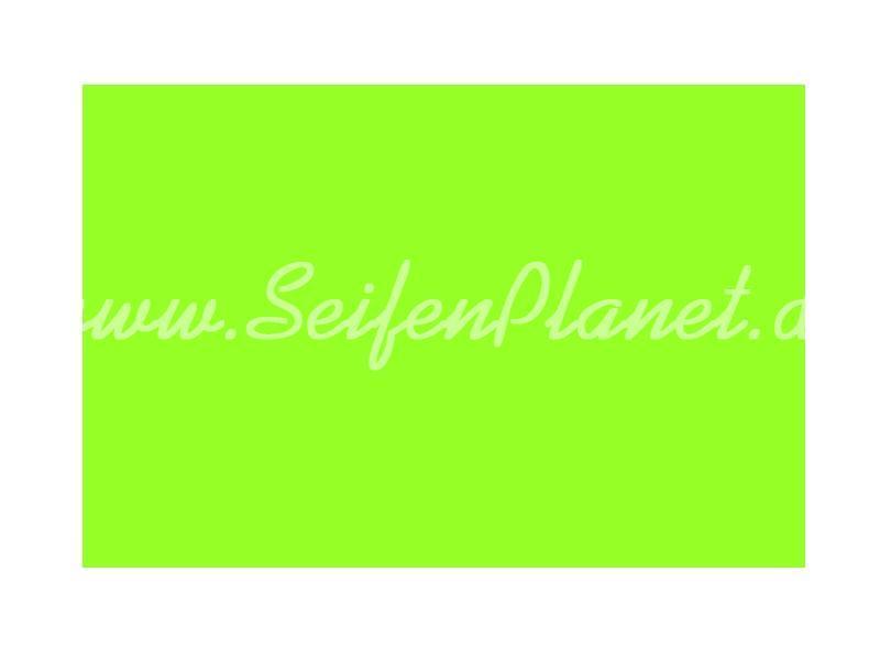 Fluoreszierende Seifenfarbe grün » 2,50€ » SeifenPlanet-Onlineshop