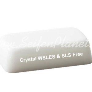 Glycerinseife Crystal WSLES & SLS Free, opak, 1 kg