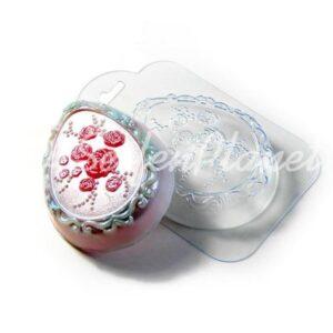 Seifengießform Rosenei