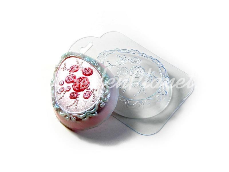 Seifengießform Rosenei » 2,49€ » SeifenPlanet-Onlineshop