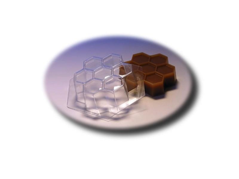 Seifengießform Bienenwaben » 2,49€ » SeifenPlanet-Onlineshop