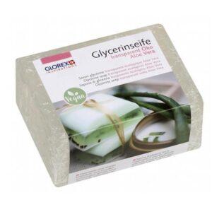 Glycerinseife Öko m. Aloe Vera, transparent, 500 g