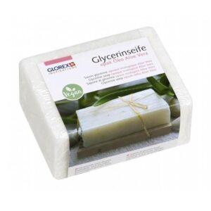 Glycerinseife opak Öko m. Aloe Vera, 500 g