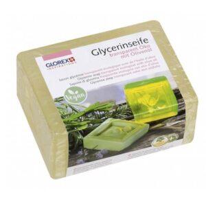 Glycerinseife Öko m. Olivenöl, transparent, 500 g