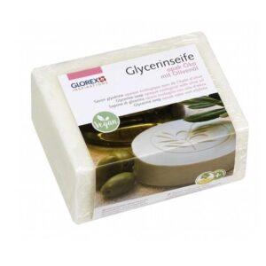 Glycerinseife Öko m. Olivenöl, opak, 500 g
