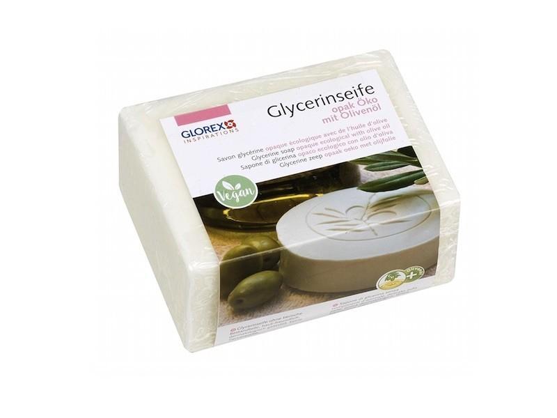 Glycerinseife Öko m. Olivenöl, opak, 500 g » 9,74€ » SeifenPlanet-Onlineshop