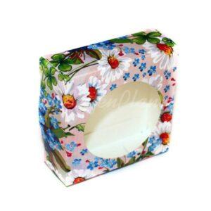 Seifenverpackung Blumenwiese