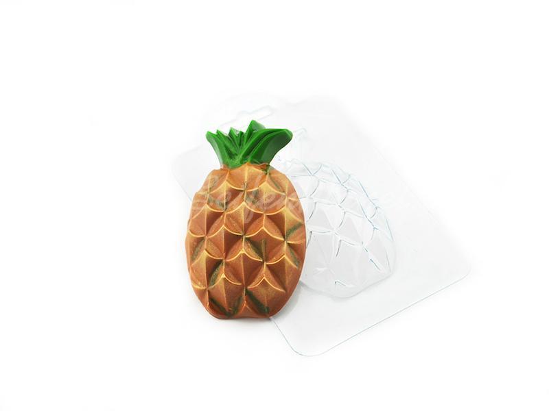 Seifengießform Ananas » 2,49€ » SeifenPlanet-Onlineshop