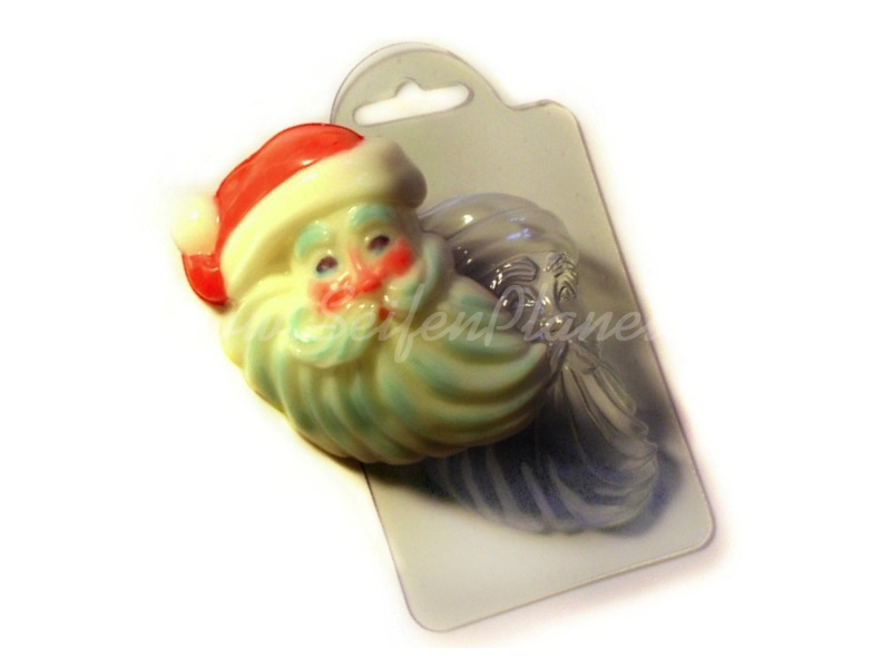 Seifengießform Weihnachtsmann » 2,49€ » SeifenPlanet-Onlineshop