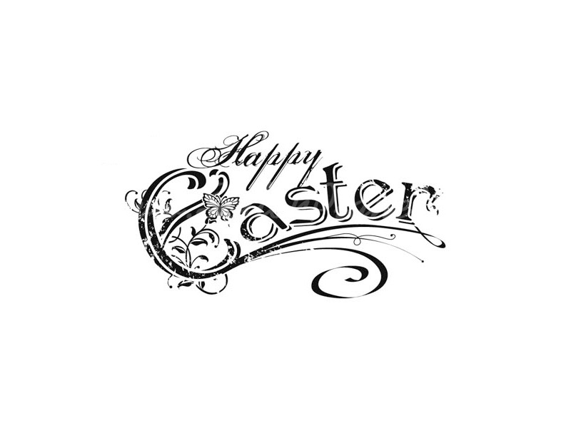 Silikonstempel Happy Easter » 1,50€ » SeifenPlanet-Onlineshop