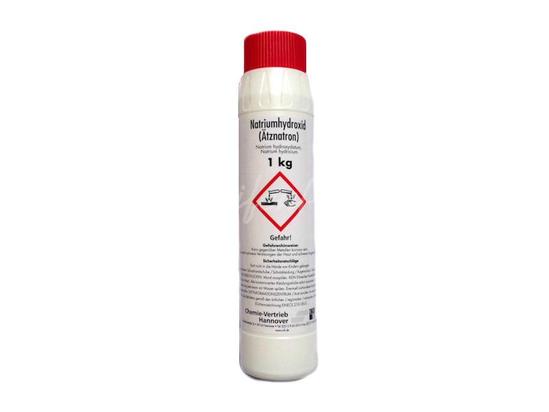 Natriumhydroxid NaOH Ätznatron, 1 kg » 8,79€ » SeifenPlanet-Onlineshop