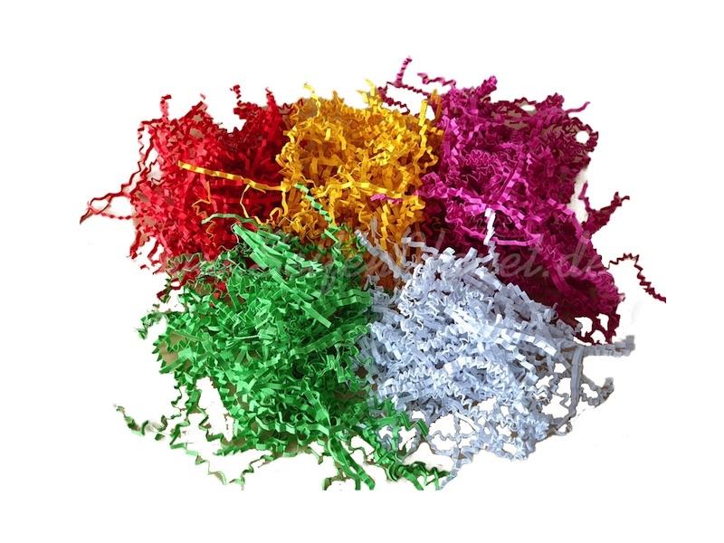 Dekorative Papierfüllmaterial » 3,99€ » SeifenPlanet-Onlineshop