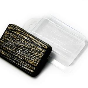 Seifengießform Holzstück