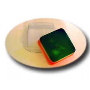 Seifengießform Quadrat