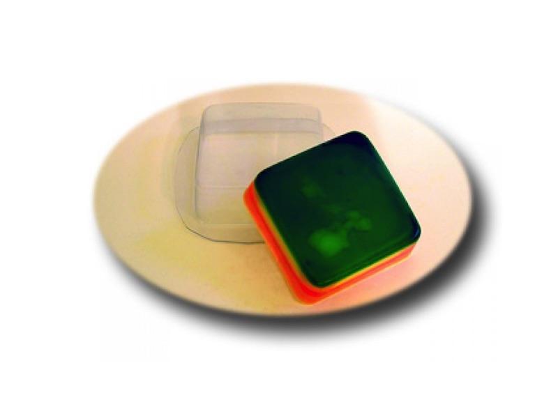 Seifengießform Quadrat » 2,49€ » SeifenPlanet-Onlineshop