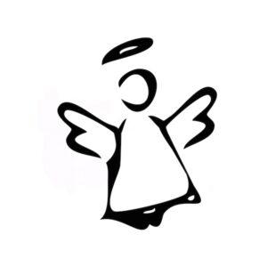 Reliefeinlage Engel